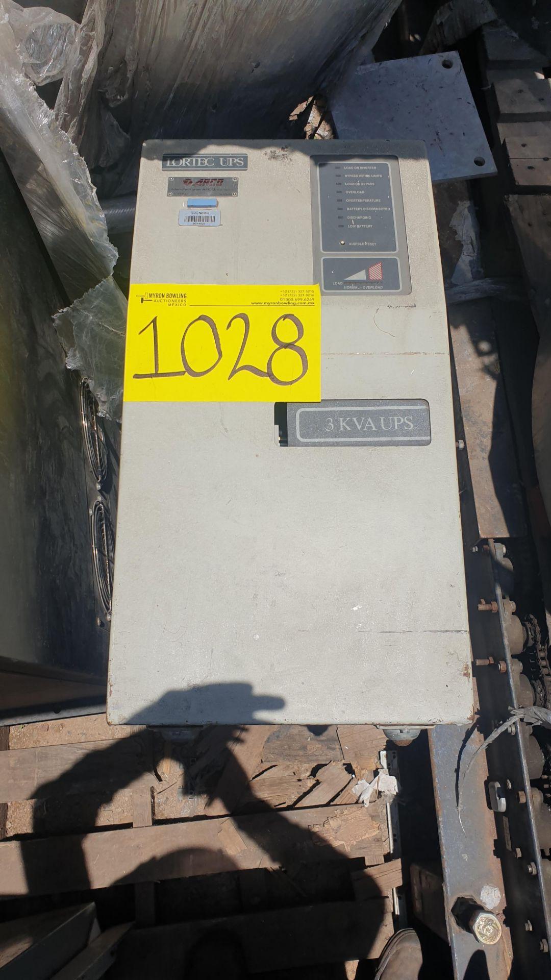 1 Ferrups Power bank system model FD10KVA 208-240V includes Lortec UPS of 3KVA