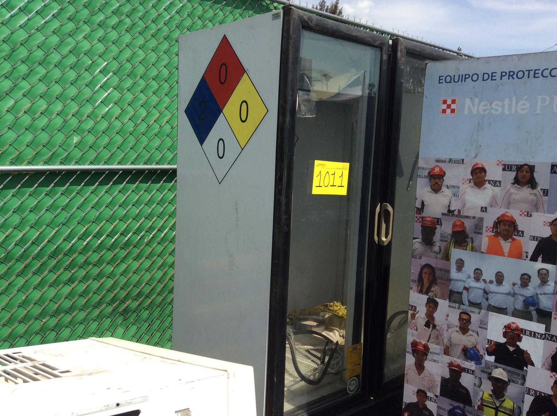 1 Ojeda refrigerator of double glass door model RV2P36 serial number 0636323-34305 120V - Image 2 of 14