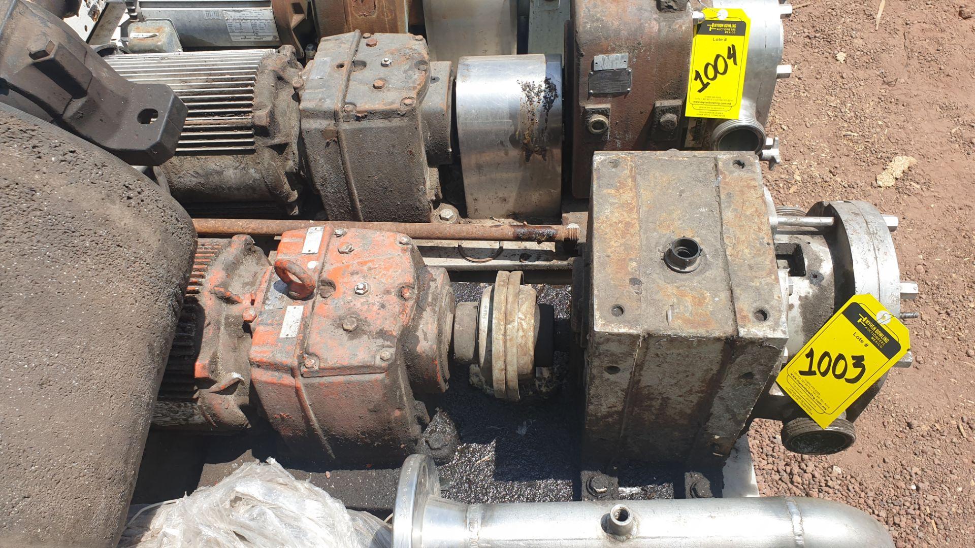 Fristam Lobe pump, includes emerson motor capacity 15HP 230v -460v - Image 3 of 6