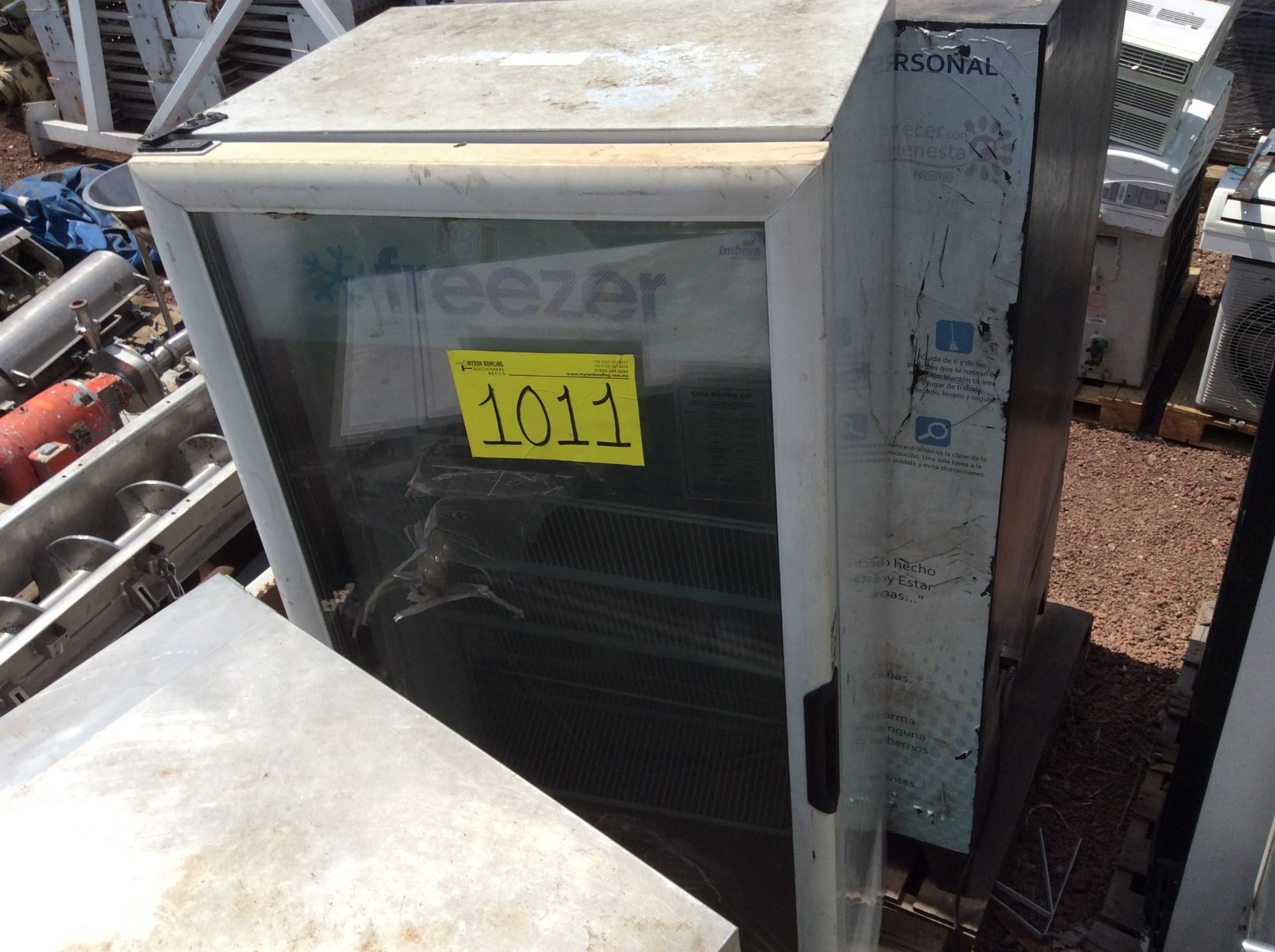 1 Ojeda refrigerator of double glass door model RV2P36 serial number 0636323-34305 120V - Image 14 of 14