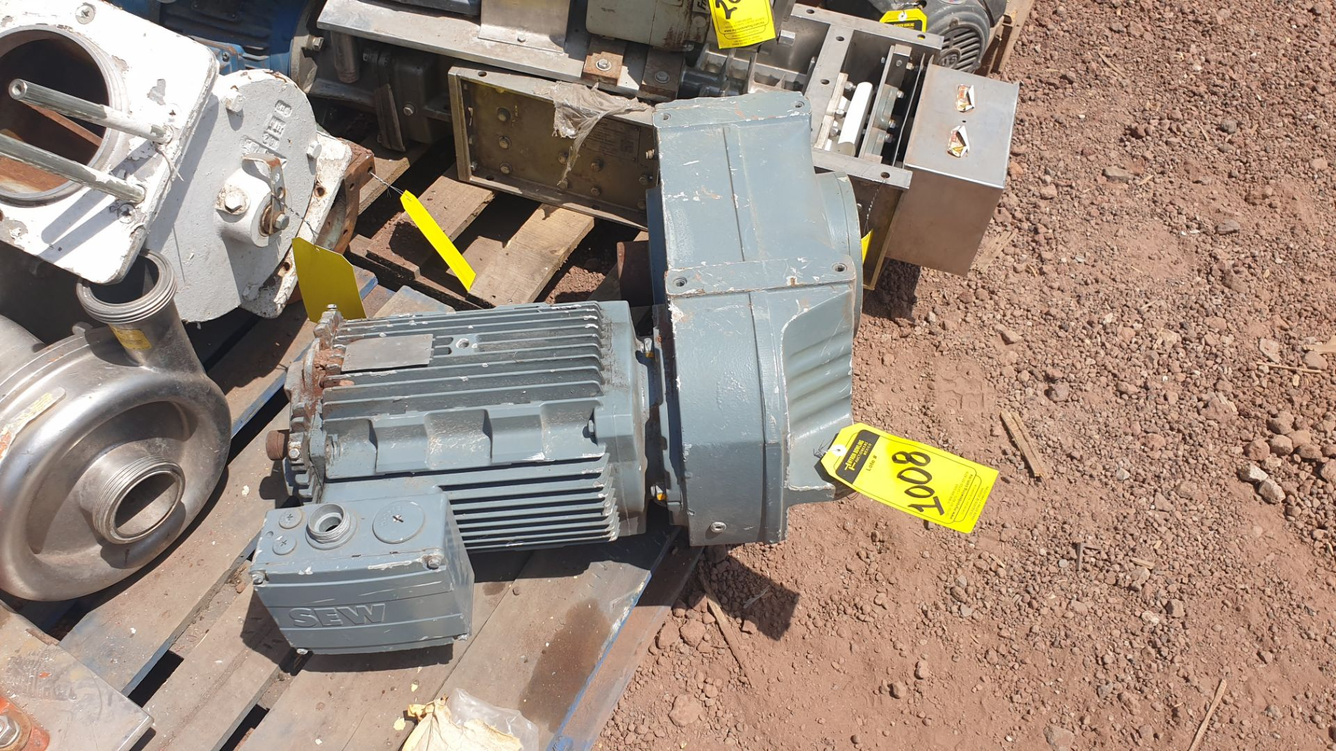 1 ABB motor without plate, 1 ABB motor model M2AA160M2 15KW - Image 9 of 15