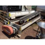 4 helical conveyors, includes 1 geared motor. Please inspect