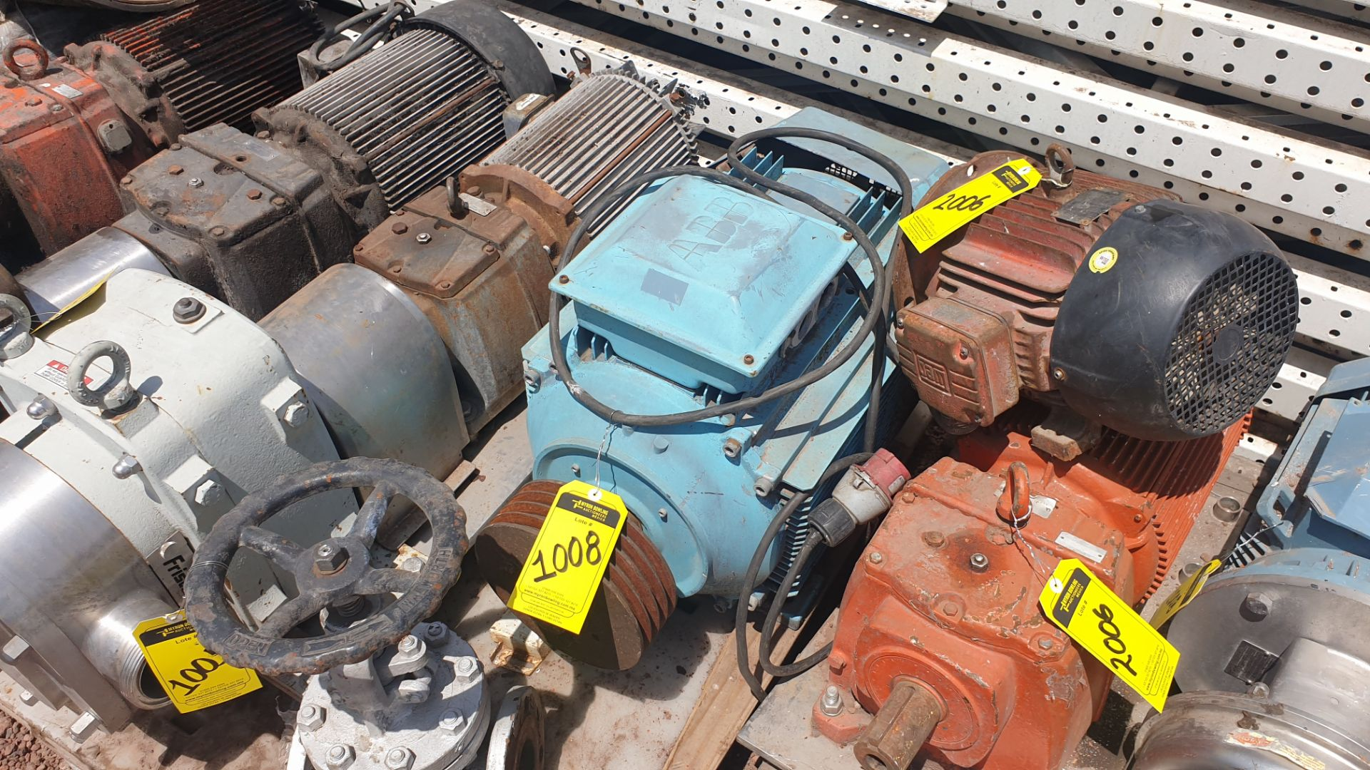 1 ABB motor without plate, 1 ABB motor model M2AA160M2 15KW - Image 2 of 15