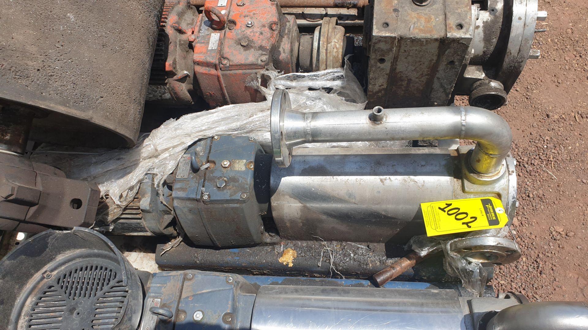 Pneumatic pump, includes emerson motor, model 684982 capacity 10Hp 230v - 460v - Image 3 of 8