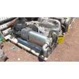 Pneumatic pump, includes emerson motor, model 684982 , capacity 10Hp 230v-460v