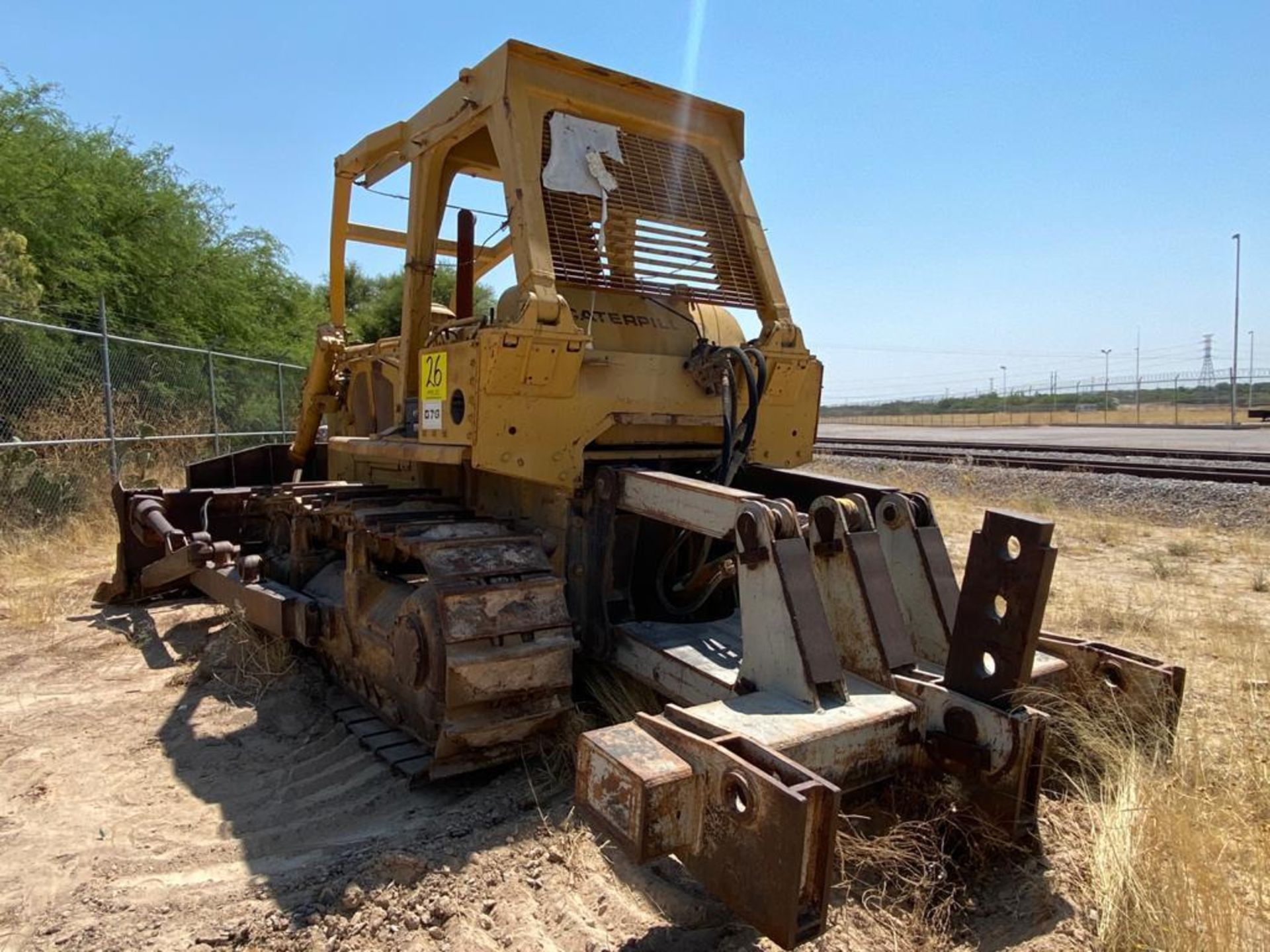 Caterpillar D7G Bulldozer, Serial number 92V5897, Diesel motor - Image 12 of 48