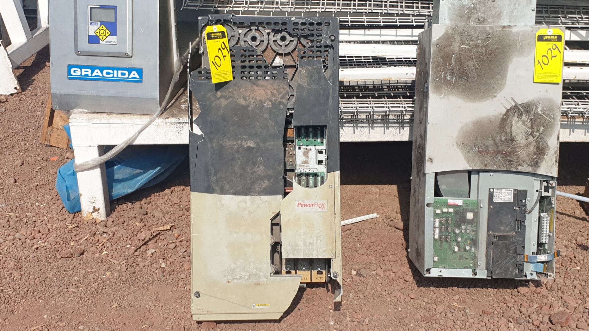 2 Powerflex Variator boards, model 20G1AN, 20BD180A0AYNANC0 - Image 12 of 13