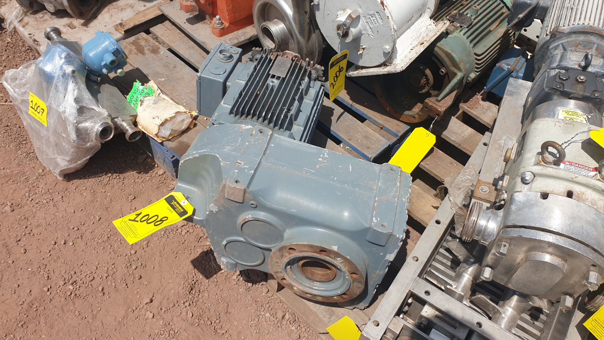 1 ABB motor without plate, 1 ABB motor model M2AA160M2 15KW - Image 10 of 15