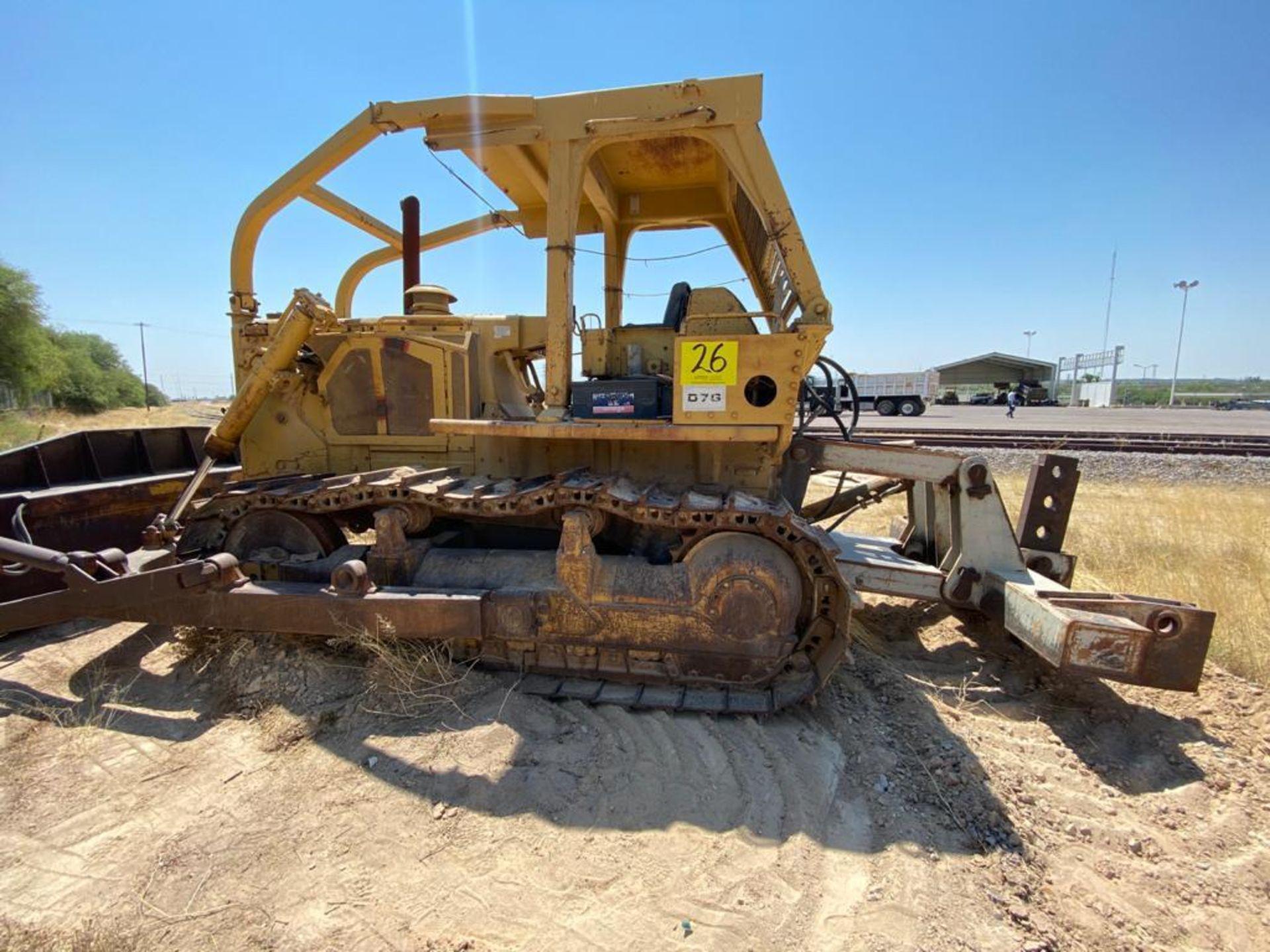 Caterpillar D7G Bulldozer, Serial number 92V5897, Diesel motor - Image 9 of 48