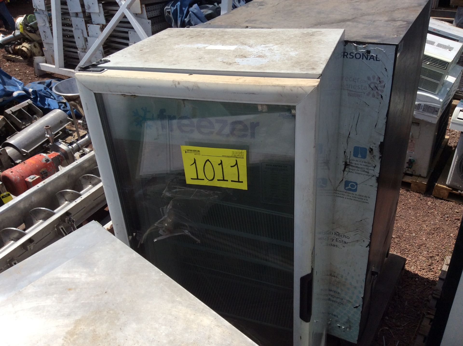 1 Ojeda refrigerator of double glass door model RV2P36 serial number 0636323-34305 120V - Image 13 of 14