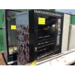 1 AMS Vending machine, 1 Hobart dishwasher