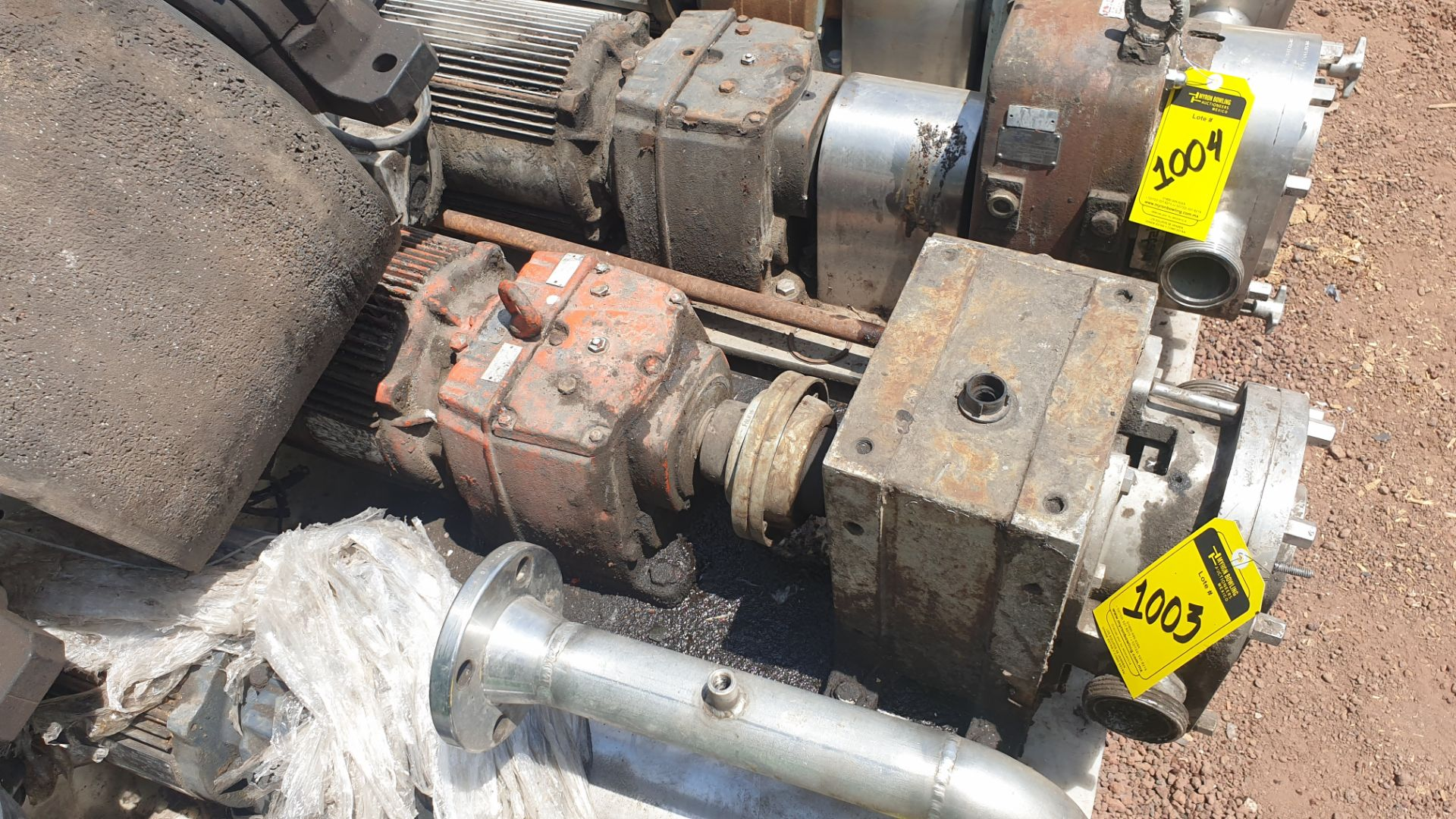 Fristam Lobe pump, includes emerson motor capacity 15HP 230v -460v - Image 6 of 6