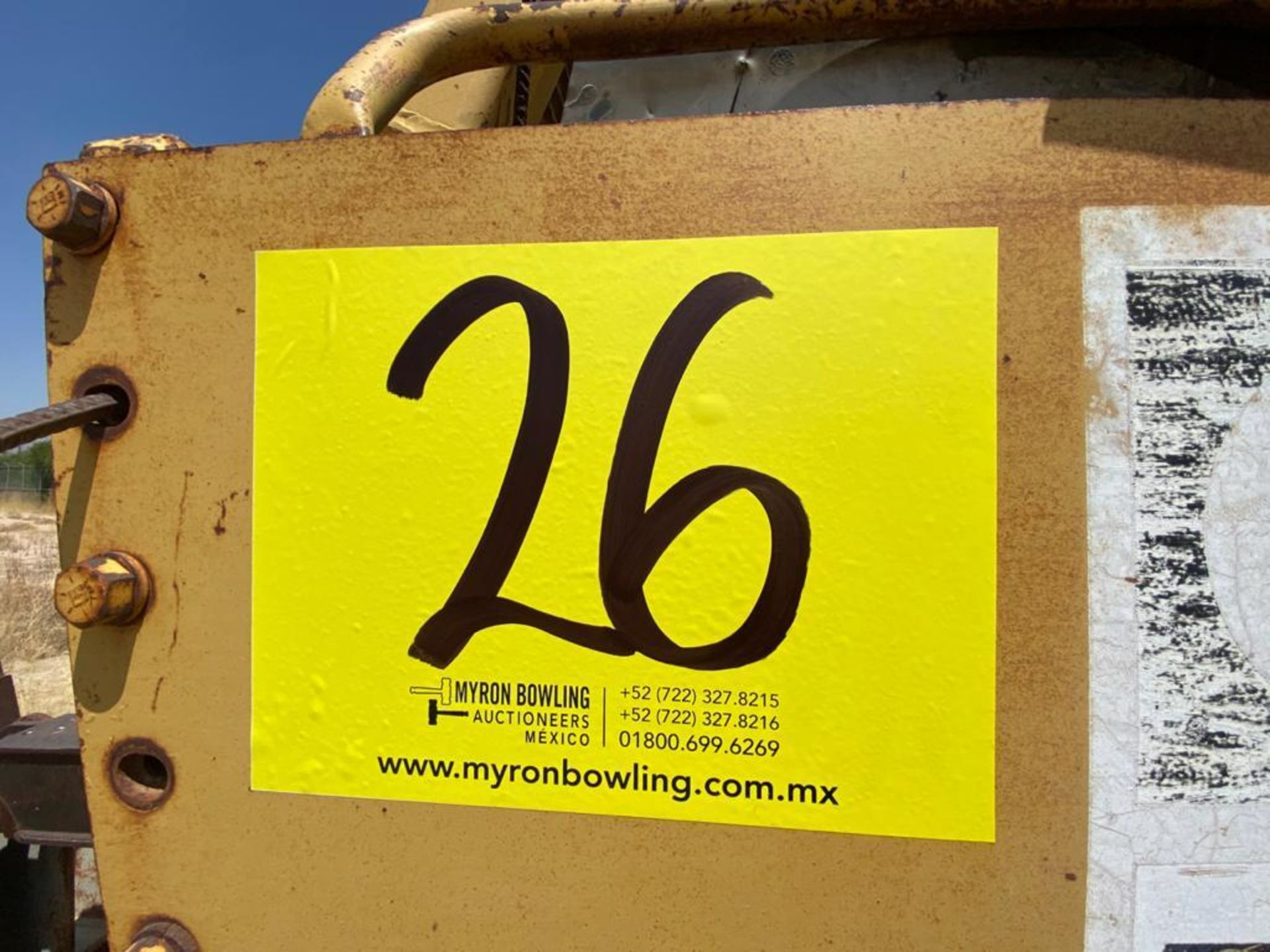 Caterpillar D7G Bulldozer, Serial number 92V5897, Diesel motor - Image 48 of 48