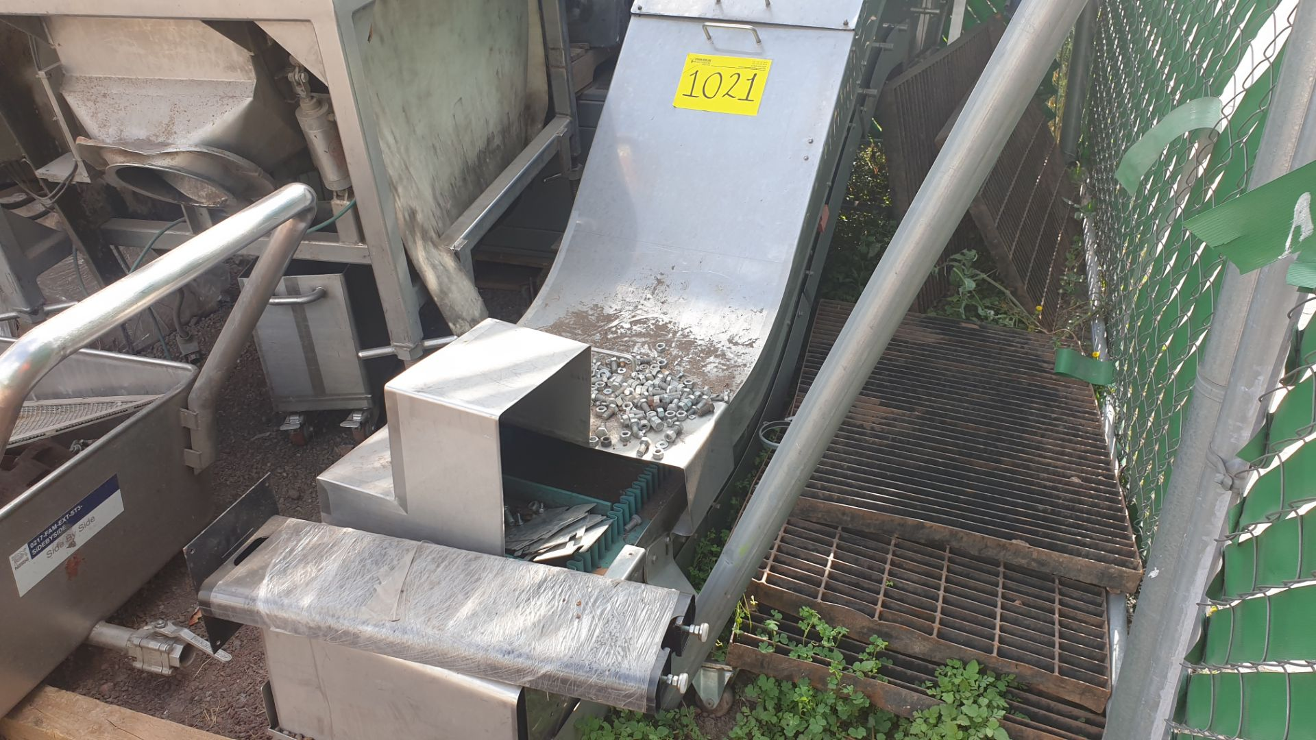Collection of bands and heads system (product recovery for reprocessing) - Image 6 of 12