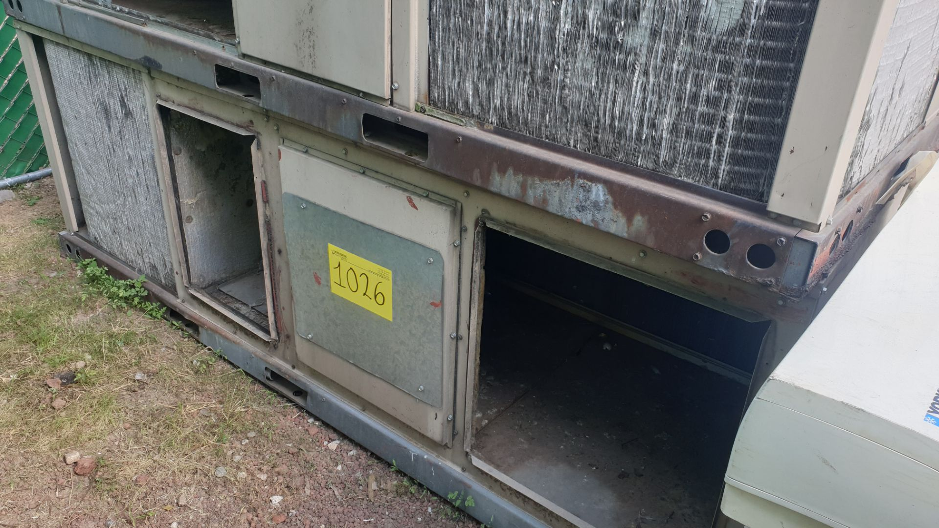 1 York Industrial Condensing unit, model D3CE090A46C n/s NFFM8698 - Image 4 of 6