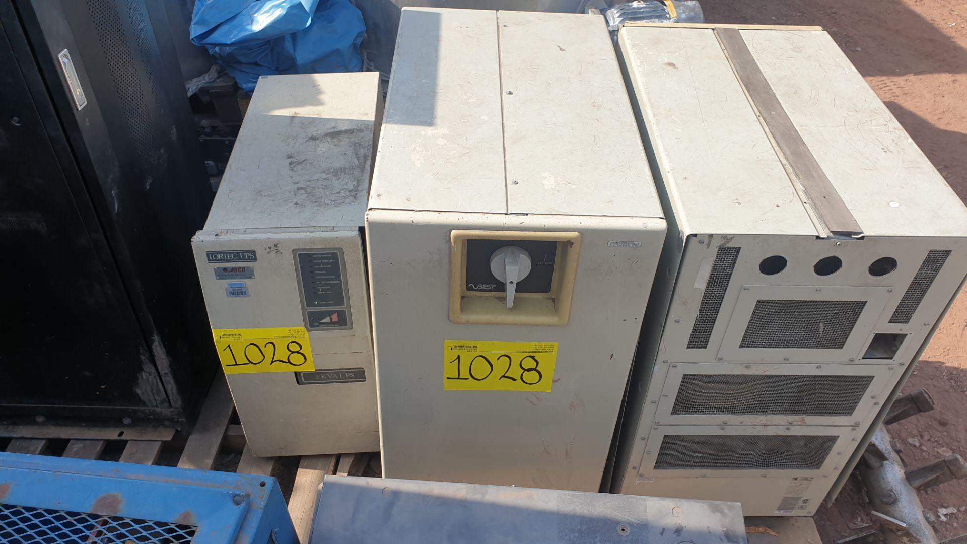 1 Ferrups Power bank system model FD10KVA 208-240V includes Lortec UPS of 3KVA - Image 10 of 11