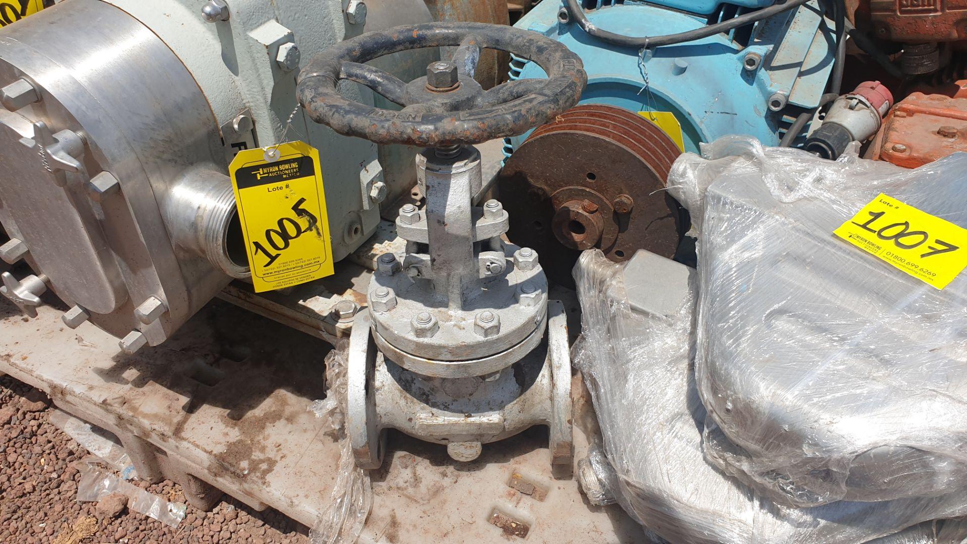 3 Walworth gate valves of three inches