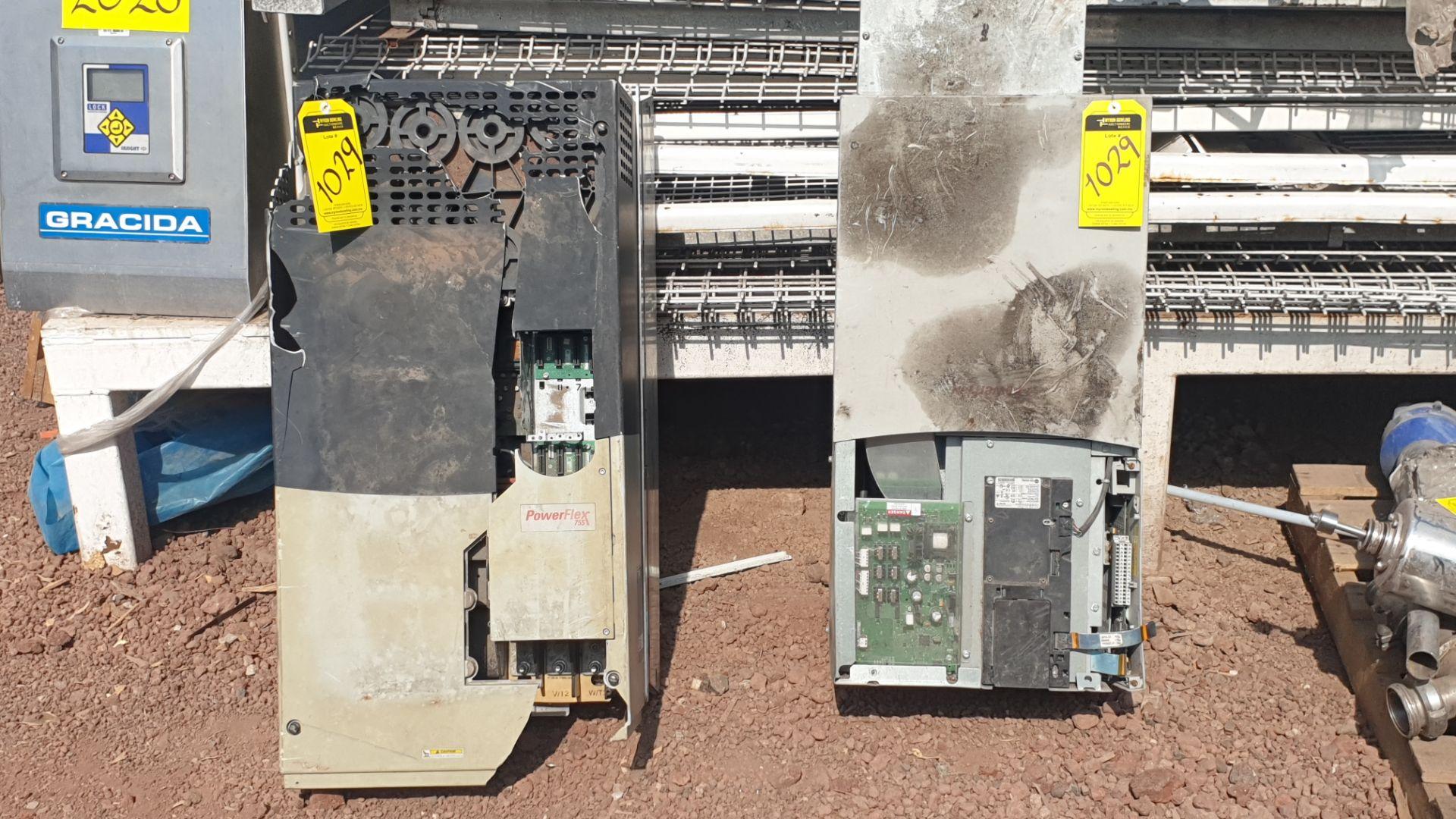 2 Powerflex Variator boards, model 20G1AN, 20BD180A0AYNANC0 - Image 6 of 13