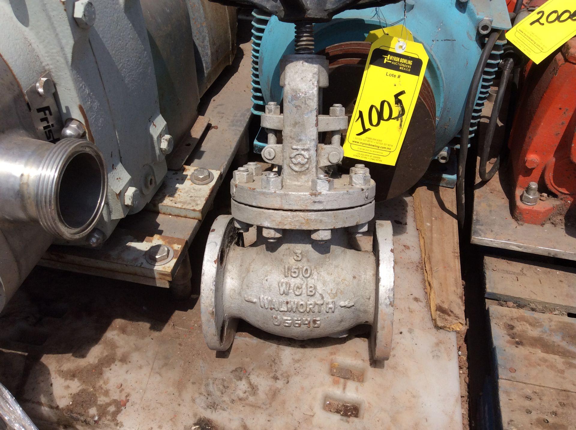 3 Walworth gate valves of three inches - Image 12 of 13