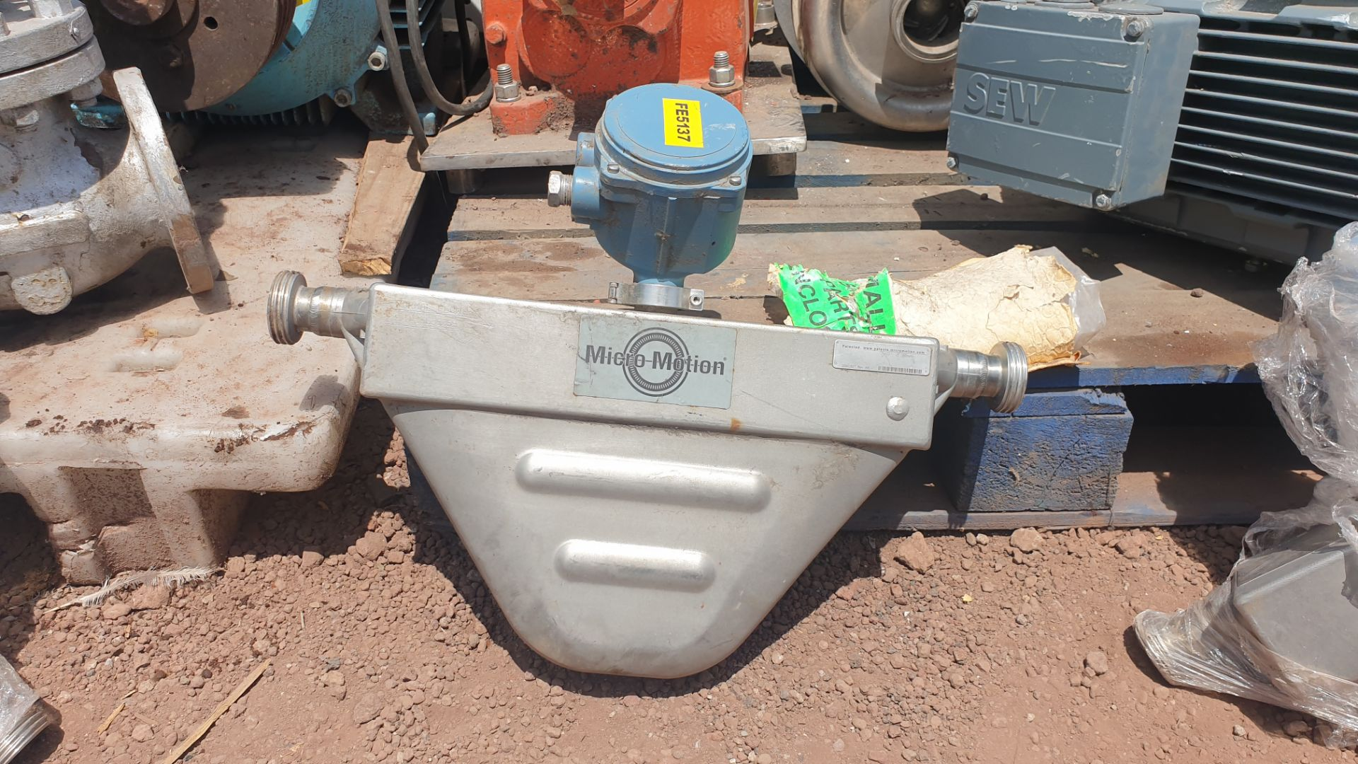 Micromotion Flow meter, model F100S230C2BMSZZZZ NS 14639520 2016 - Image 7 of 10