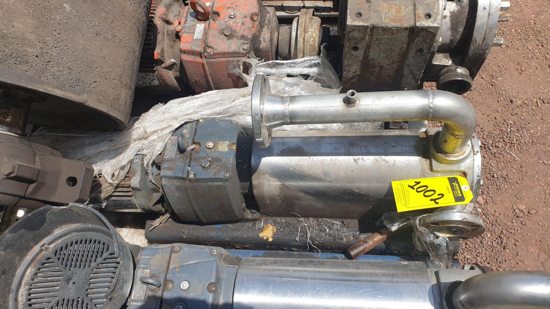 Pneumatic pump, includes emerson motor, model 684982 capacity 10Hp 230v - 460v - Image 4 of 8