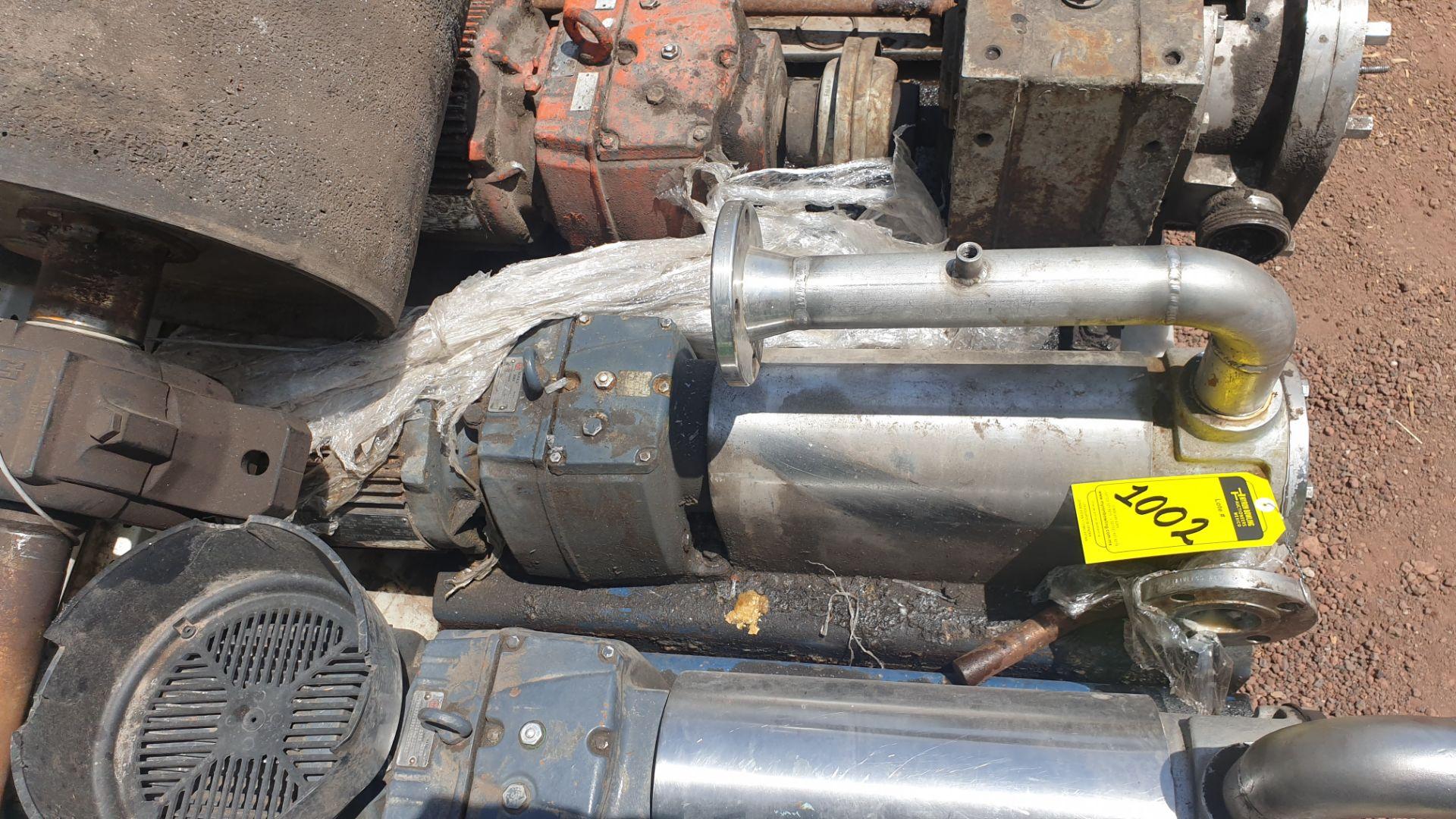 Pneumatic pump, includes emerson motor, model 684982 capacity 10Hp 230v - 460v - Image 5 of 8
