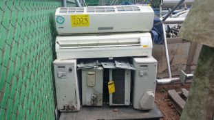 1 Air- conditioning lot, includes 4 York condenser units