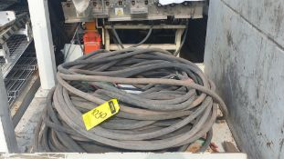 Lot of cable for high tension of 3 lines different gauge 80 mts approximately
