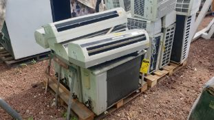 1 Air-conditioning lot, includes 4 York condenser units