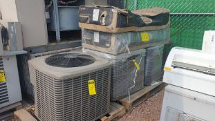 Air-conditioning lot, includes two York condensers model YCJD6054354A N/S W1B6331193