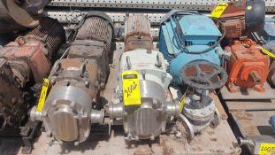 1 Fristam Lobe pump, serial number 95011208-4283, includes emerson 10hp motor