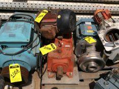 WEG motor, model 00718EP213T 7HP, 1 14 HP motor without plate