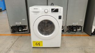 1 Lavadora 2 en 1 marca Samsung 11/7 kilos color blanco modelo WD11M4473MW/AX