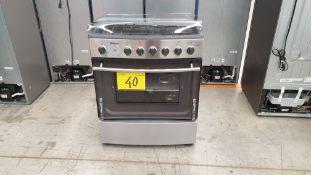 1 Estufa marca Koblenz color gris de 6 quemadores modelo EK-1131 BD-ICHIC