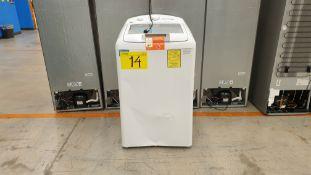 1 Lavadora mara Easy de 16 kilos color blanco modelo LEA46102VBAB01