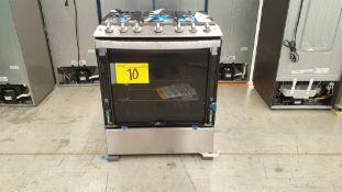 1 Estufa marca Whirlpool de 6 quemadores modelo WFR3400S00