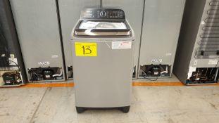1 Lavadora marca Winia de 21 kilos color gris modelo DWF-DB1B421ABMG1