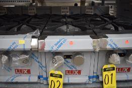 NUEVO Parrilla De Sobreponer A Gas 2 Quemadores Acabado En Acero Inoxidable 60,000 BTU/H