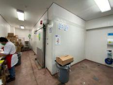 Cámara de refrigeración medidas 6.40 x 2.70 x 2.45 (15 panales, 5 techos aprox.)
