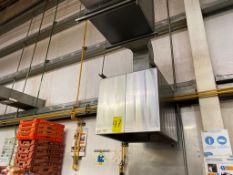 1 Campana de extracción de acero inoxidable medidas 0.65 x 0.75 x 0.60, 3 Extractores