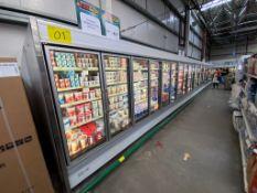 Tren de refrigeración de lácteos marca Hussmann