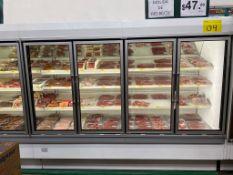 Tren de refrigeración para cárnicos marca Hussmann