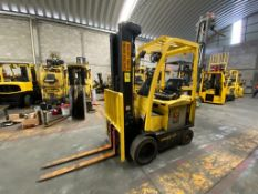 Hyster Electric Forklift, Model E50XN-27, S/N A268N20204P, Year 2016, 4750 lb Capacity,