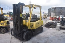 Hyster Forklift, Modelo H50FT, S/N P177V02699N, Year 2015, 5000 lb, Hours 8272