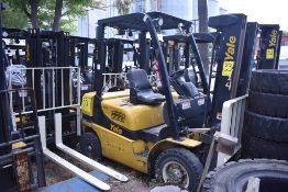 Yale Forklift, Model GP050MX GLP050MXNEAE084, S/N A390V07314S, 5000 lb