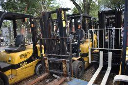 Yale Forklift, Model GTP25MX, S/N D871R02895P, Year 2016, Nissan LP gas, 5000 lb