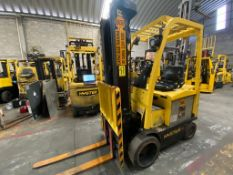 Hyster Electric Forklift, Model E50XN-27, S/N A268N20190P, Year, 4750 lb Capacity