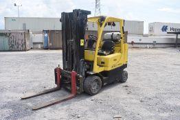 Hyster Forklift, Model S80FTBCS, S/N H004V03931N, Year 2015, 7500 lb Capacity