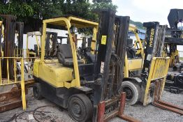 Lot of 4 Forklift, Hyster and Yale