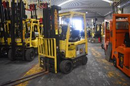 Hyster Electric Forklift, Model E50XN-27, S/N A268N20235P, Year 2016, 4750 lb Capacity